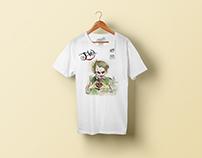 tişört baskı illüstrasyon