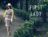 ELLE MAGAZINE - First Lady