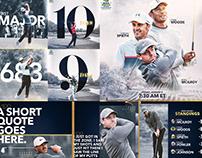100th PGA Championship Graphics Package