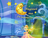 "Children book ""Nadia and magic valley"""