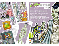 Paper Dolls - Monster Betties - Fritzi