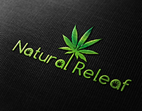 Natural Releaf Logo ( custom project )