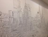 Лифтовый холл, ул. Тишинская. Москва