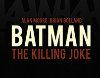 Batman - The killing Joke poster
