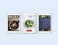 Women's Weekly iPad Cookbooks