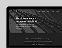 CM Design Portfolio Website