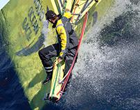Volvo Ocean Race Newport Branding