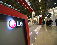 LG Booth in Mir Climate Expo 2015