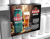 Borsodi Mester - POS design