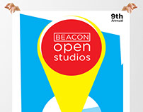 Beacon Open Studios poster