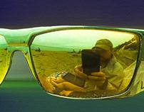 Selfie at Santa Cruz Beach