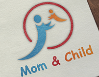 Mom & Child Care Logo Concept.