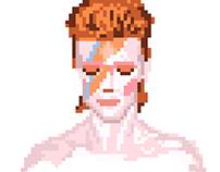 Pixel Art Album Covers