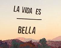"""Poster """"La vida es bella"""""""