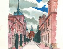 Alcalá de Henares sketchbook #6