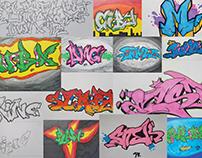 My Graffiti Artworks