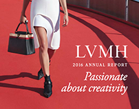 LVMH Annual Report Illustartion