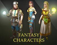 Fantasy 3D-Characters (Dec 2011 - Dec 2012)