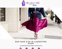 Fashion & Lifestyle Blog Launching Page