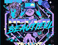 Hello Beautiful Tour Poster