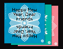 HAPPY NEW YEAR POSTCARDS