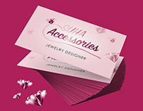 Accessories Design Business Card