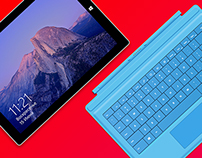 Surface Pro 3 free PSD templates