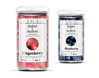 Mabel + Anders Jams Branding