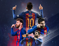 2016-2017 FC Barcelona Posters