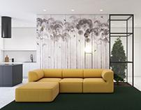 Nature interior #khrôme #eavesofabymenu #tree #flos