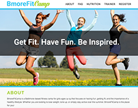 BmoreFitCamp Website + Branding