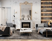 Exquisite flat in Paris by Diff Studio