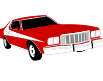 Ford Gran Torino Vector