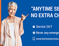 Horizon Service Bill Board project Option 3