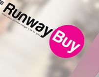 Runway Buy App Screen Showcases