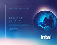 Intel Laptop DemonstrationSoftware UI Screens