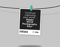 #WorldCaptures #Celebrate #WorldPhotographyDay