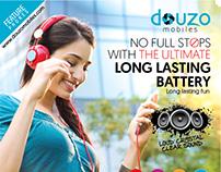 Creatives -Douzo Mobiles