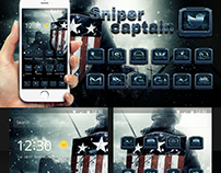 Sniper captain for theme