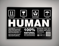 HUMAN // PSA Campaign Poster