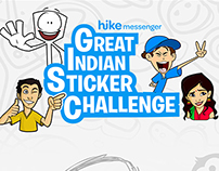 Stickers for Great Indian Challange