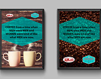Paganotto Coffee - inspiring coffee shop posters