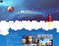 Mobidic - Drupal 8 Portfolio Theme