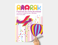 Typographie et affiche jeunesse - ANORAK
