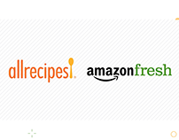AllRecipes + Amazon Fresh