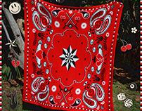 Knit Art Blanket Design