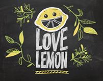Campaña para Love Lemon - (Proyecto Universitario)