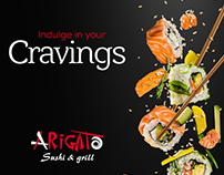 Arigato Sushi & Grill - SOCIAL MEDIA