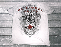 Hellbound Heart T-shirt Mock-up