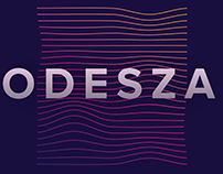 Type 2 - Poster Series // ODESZA